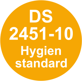 Danish hygiene standard - self-checks